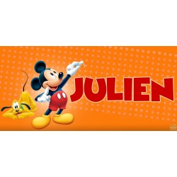 Plaque de porte Mickey