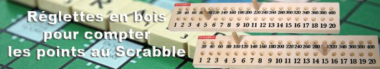 Compter les points au SCRABBLE